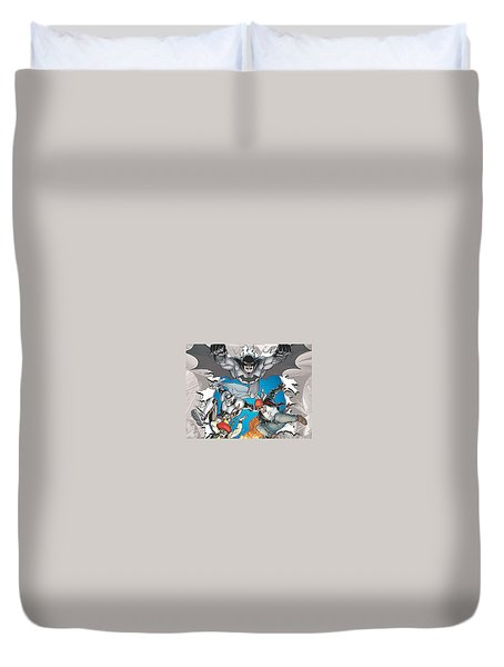 Batman Incorporated Duvet Cover
