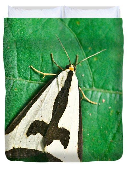 Batman On A Moth Duvet Cover