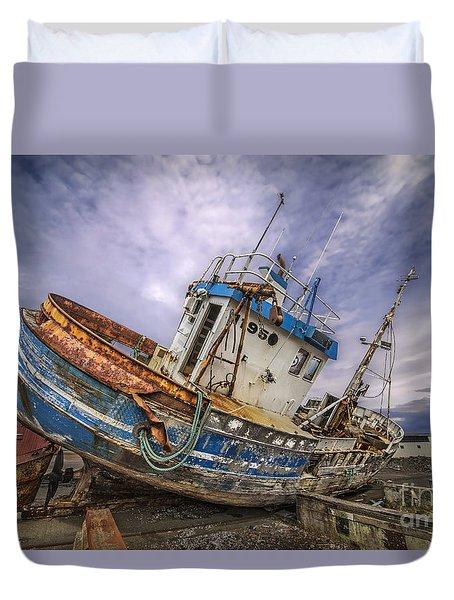 Battered Boat Duvet Cover