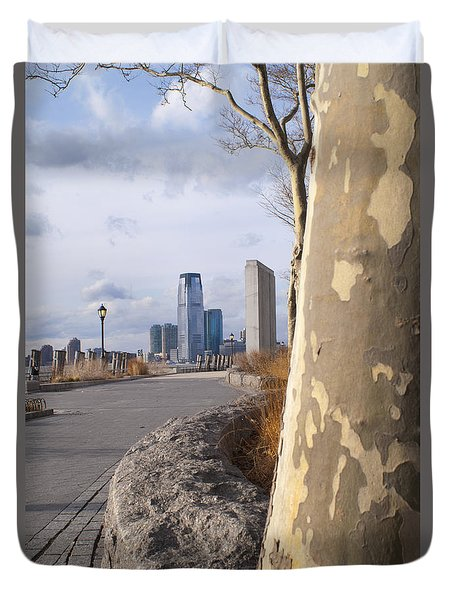 Battery Park Duvet Cover
