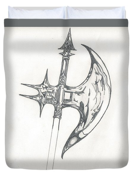Battle Axe Duvet Cover
