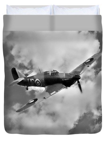 Battle Of Britain Hawker Hurricane Duvet Cover