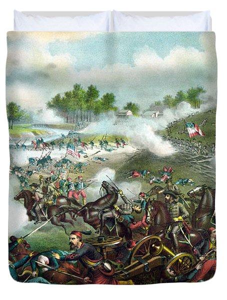Battle Of Bull Run Duvet Cover