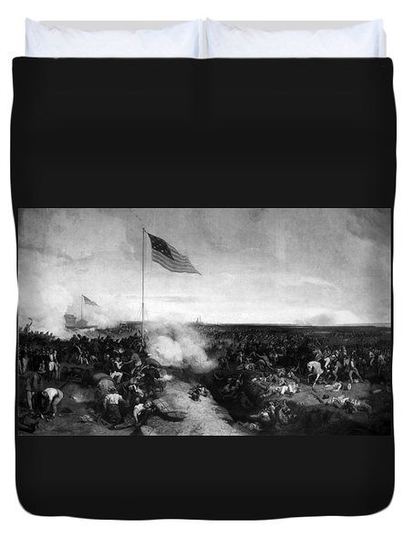 Battle Of New Orleans Duvet Cover