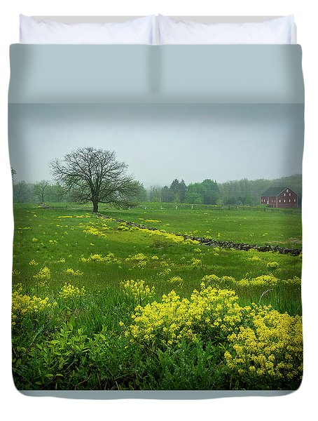 Battlefield Beauty Duvet Cover
