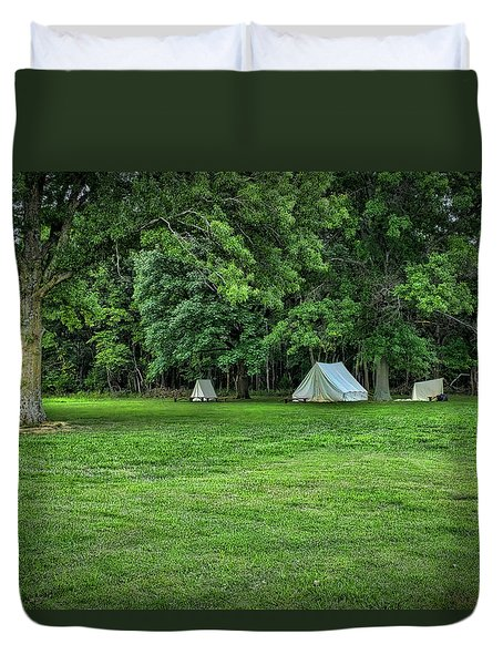 Battlefield Camp 2 Duvet Cover