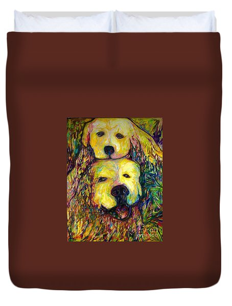 Bauer And Windi Duvet Cover