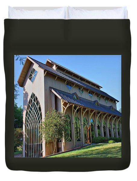 Baughman Meditation Center - Outside Duvet Cover