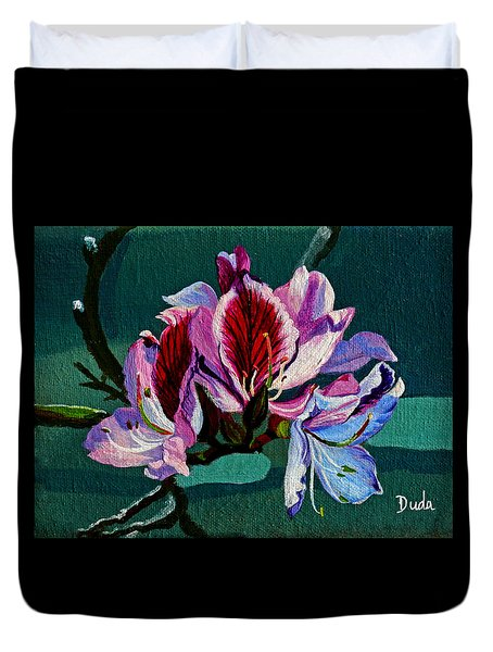 Bauhinia Beauty Duvet Cover