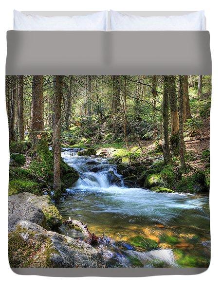 Bavarian Stream Duvet Cover