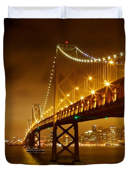 Bay Bridge Duvet Cover