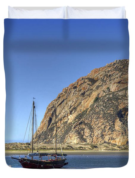 Bay Cruise At 11 Duvet Cover