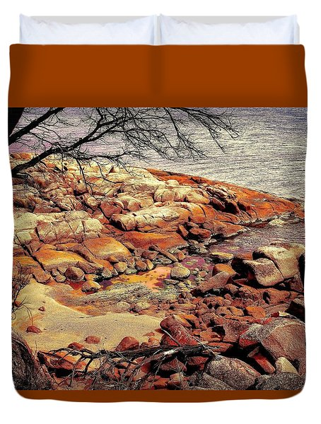 Bay Of Fires 7 Duvet Cover by Wallaroo Images