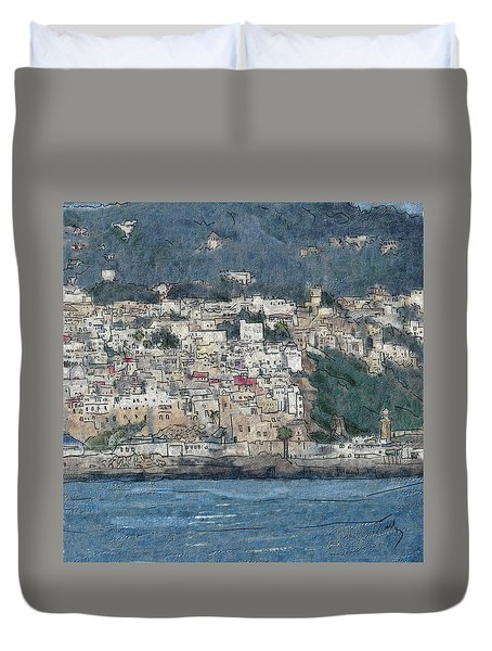 Bay Of Tangier Duvet Cover