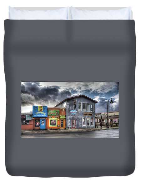 Bay Street Morning Duvet Cover by Thom Zehrfeld