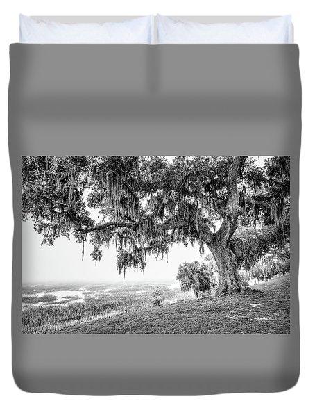 Bay Street Oak View Duvet Cover by Scott Hansen