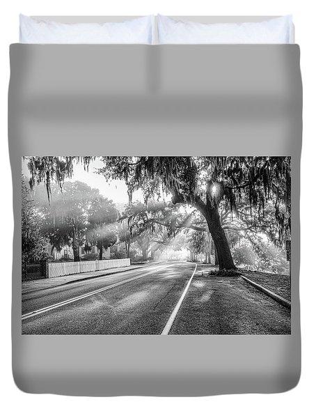 Bay Street Rays Duvet Cover by Scott Hansen