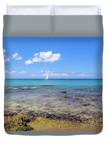 Bayahibe Coral Reef Duvet Cover