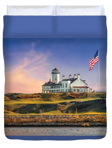 Bayonne Golf Club Duvet Cover