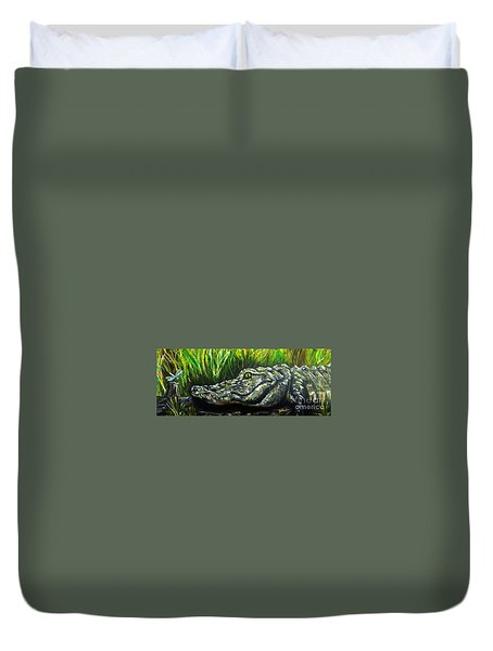 Bayou Buddies Duvet Cover
