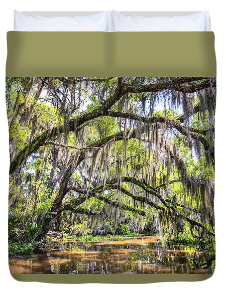 Bayou Cathedral Duvet Cover