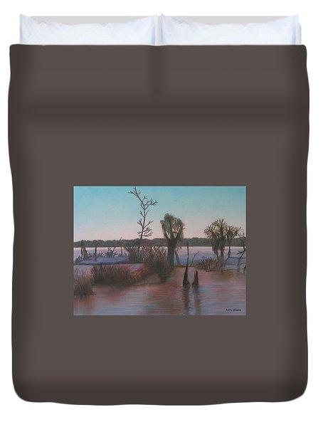 Bayou Morning Duvet Cover