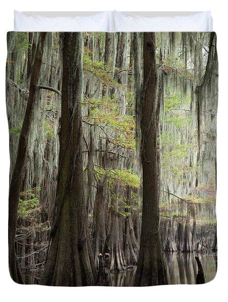 Bayou Trees Duvet Cover
