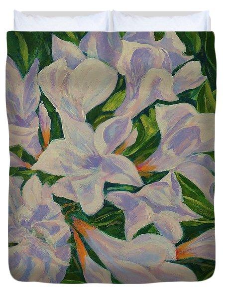Bayside Oleander Duvet Cover
