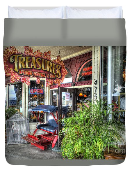 Baytown Treasures Duvet Cover