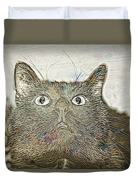 Bb Gazing Duvet Cover