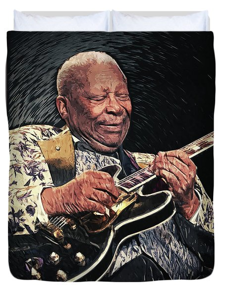 B.b. King II Duvet Cover by Taylan Apukovska