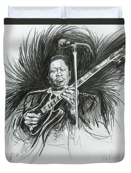 Bb King Duvet Cover