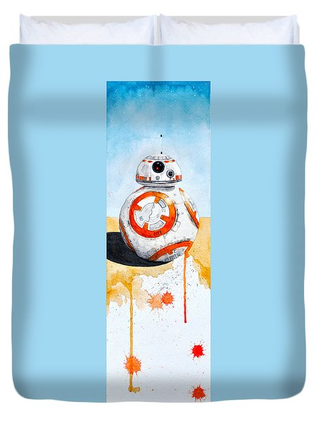 BB8 Duvet Cover by David Kraig