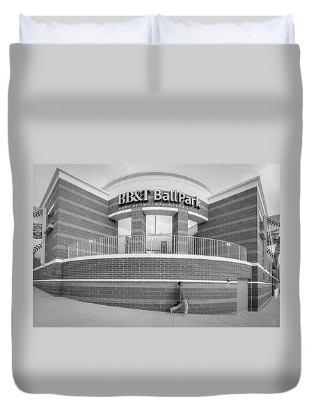Bbt Ballpark Building Duvet Cover