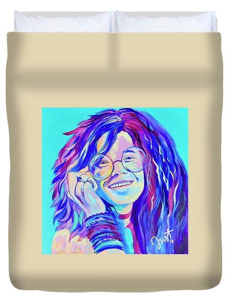 Be A Janis Duvet Cover