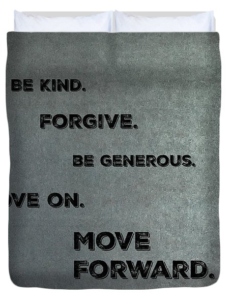 Be Kind #1 Duvet Cover