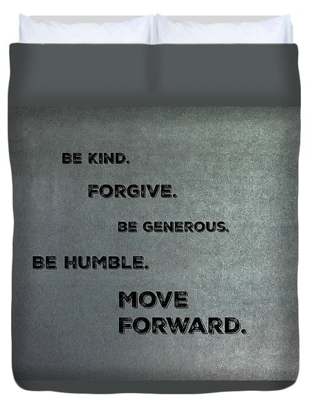 Be Kind #2 Duvet Cover
