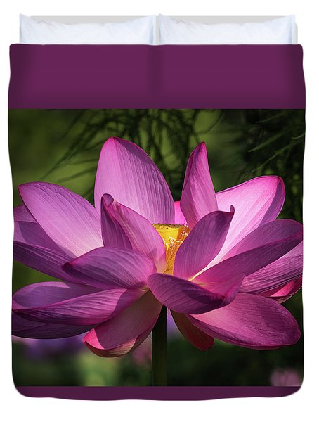 Be Like The Lotus Duvet Cover