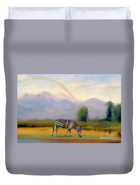 Duvet Cover featuring the photograph Be Transformed By The Renewal Of Your Mind by Bonnie Barry