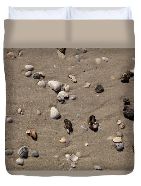 Beach 1121 Duvet Cover