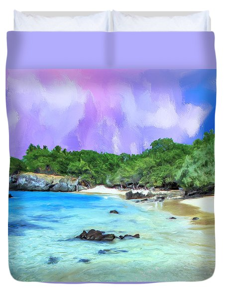 Beach 69 Big Island Duvet Cover