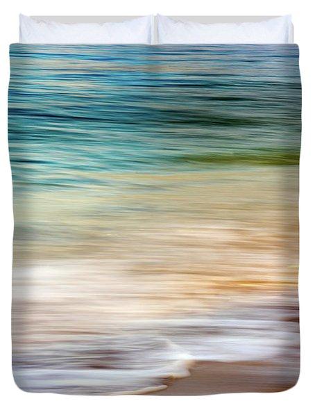 Beach Abstract Duvet Cover