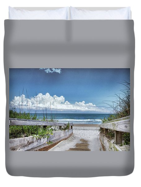 Beach Access Duvet Cover