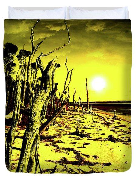 Beach Apocalypse Duvet Cover