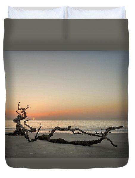 Beach Art Duvet Cover