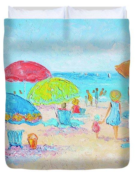 Beach Art - Relax Duvet Cover
