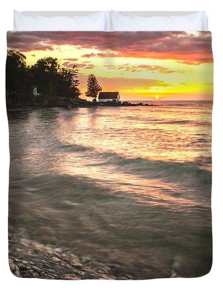 Beach Awakens Duvet Cover