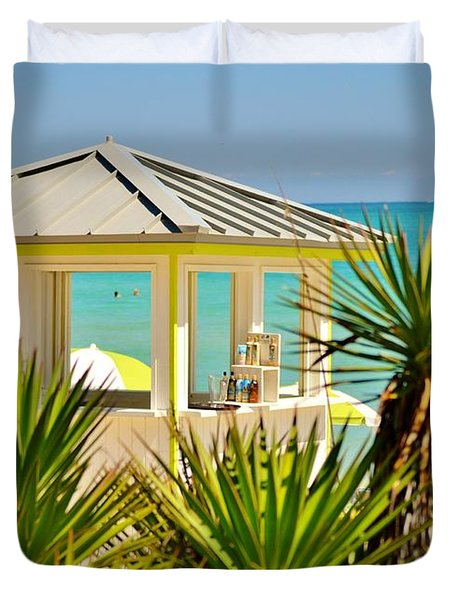 Beach Bar Duvet Cover
