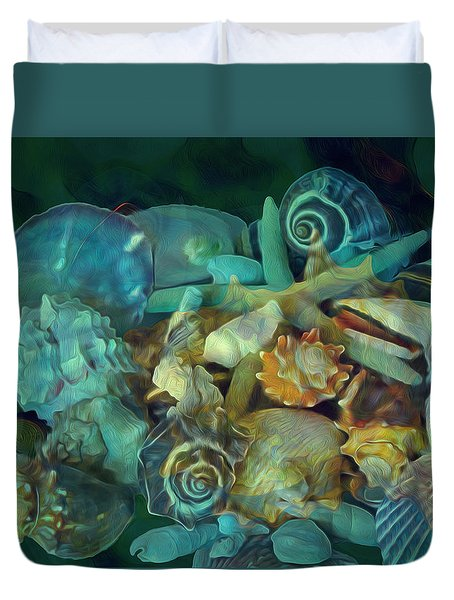 Beach Beauty 10  Duvet Cover