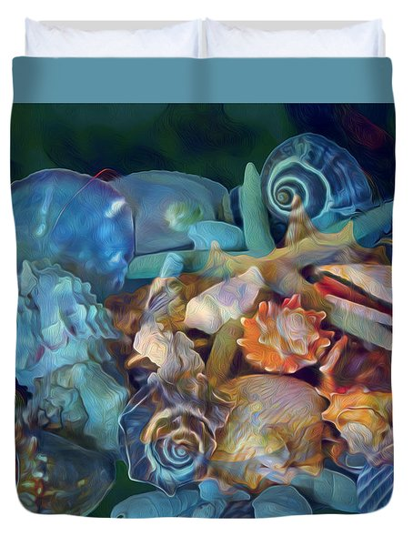 Beach Beauty 7 Duvet Cover